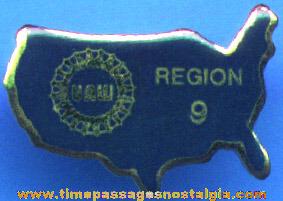 (100) Unused United Auto Worker Pins