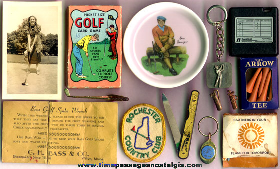 (14) Old Golf Related Items