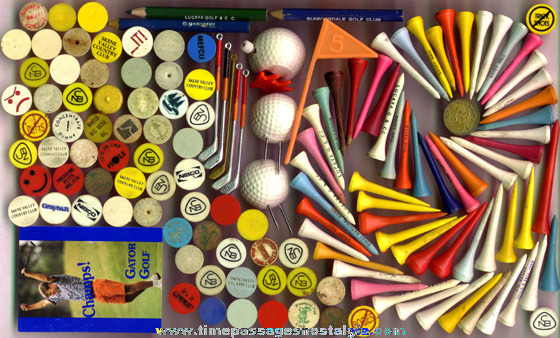 (143) Small Golf Related Items