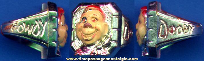 1950's Howdy Doody Premium Toy Ring