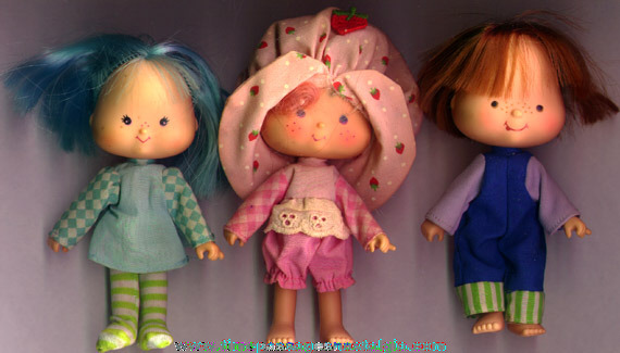 (3) ©1979 Strawberry Shortcake Character Dolls