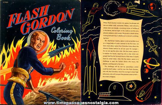 1952 Whitman Flash Gordon Coloring Book - TPNC