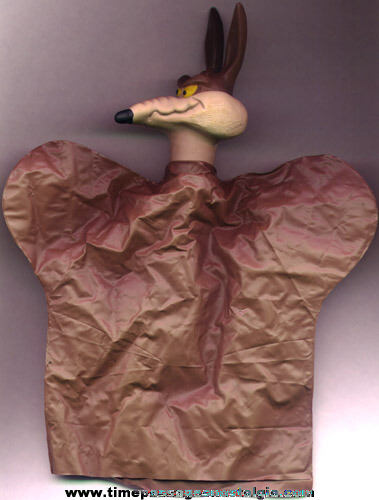 Old Wile E. Coyote Character Hand Puppet