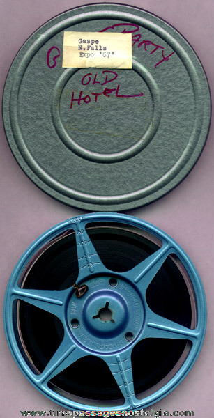 Original 1967 8mm Color Film Of The Montreal Expo & Niagara Falls
