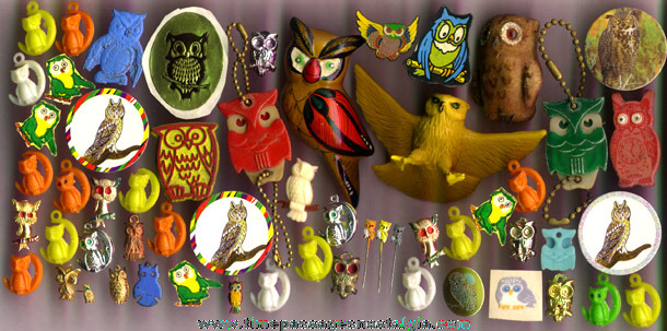 (57) Small Owl Related Items