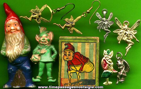 (9) Small Old Fairies, Trolls, & Elves