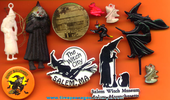 (11) Small Witch related Items
