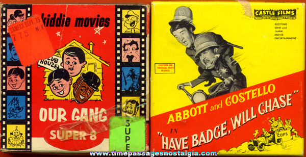 (2) Old Boxed 8mm Character Comedy Films