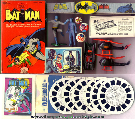 (19) Old Batman Related Items