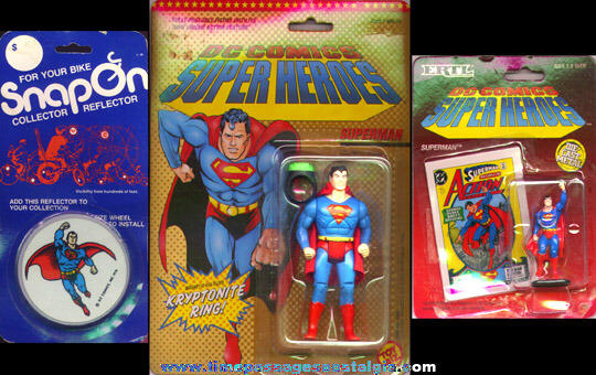 (15) Superman Character Items