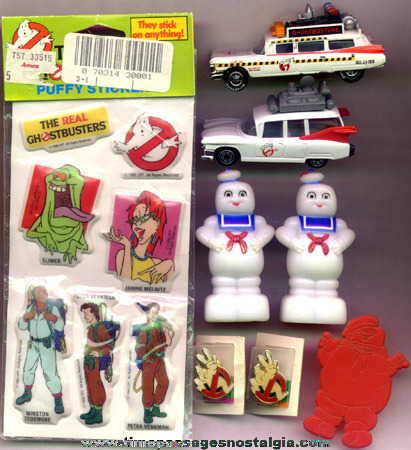(8) Ghostbusters Character Related Items