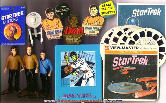 (13) Star Trek Items