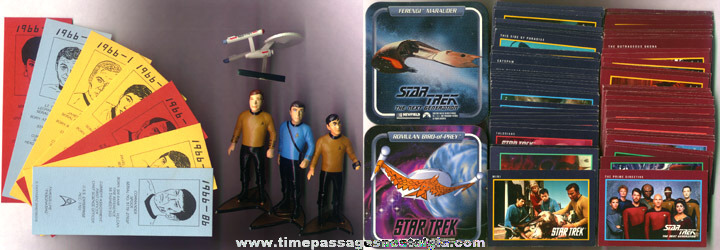 (108) Star Trek Items