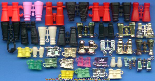 (35) Pairs Of Miniature & Charm Binoculars