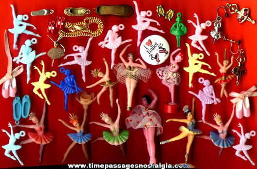 (38) Small Ballet / Ballerina Items