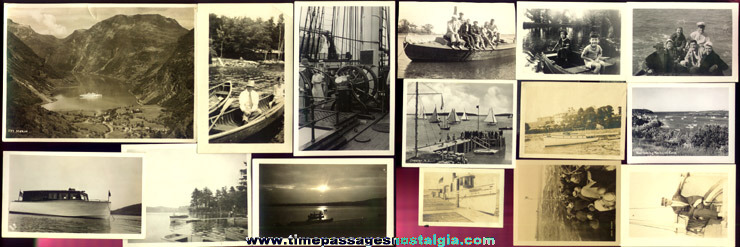 (31) Old Ship & Boat Photographs