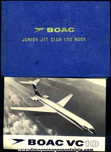 Old BOAC Airlines Junior Jet Club Kit