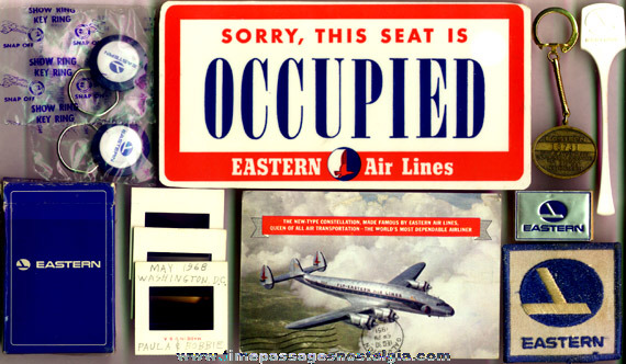 (12) Small Eastern Airlines Items