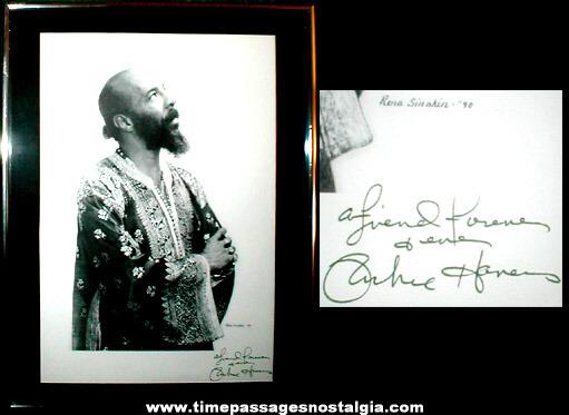 Autographed Print Of Richie Havens