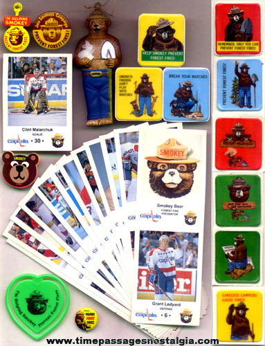 (40) Different Smokey Bear Items