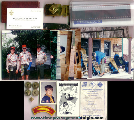 (83) Small Boy Scout Related Items