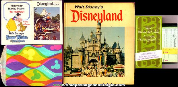 (5) Old Disneyland Items
