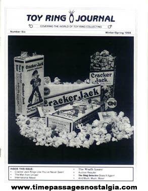 (2) Different Cracker Jack Reference Booklets