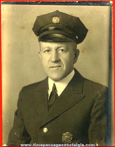Old Fireman Photograph