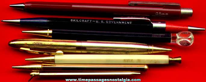 (7) Old Mechanical Pencils