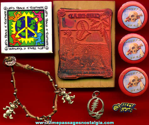 (8) Small Grateful Dead Music Items