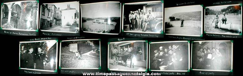 "World War II Photo Album With (36) 5"" x 7"" Photographs"