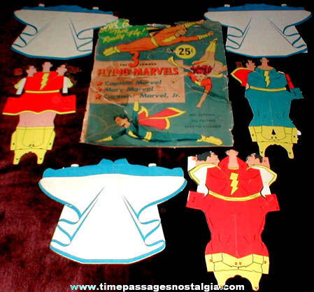 ©1945 3 Flying Marvels Paper Toy Kit