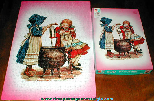 (9) Old Holly Hobbie Character Items