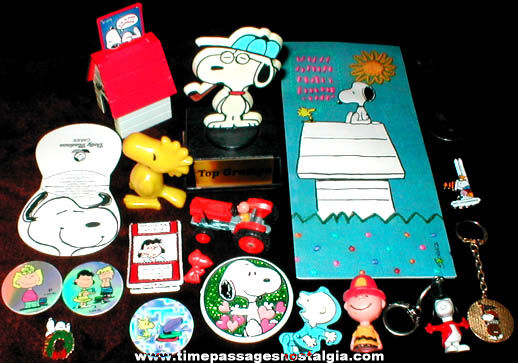 (19) Snoopy & Peanuts Character Items
