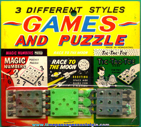 (3) Carded Miniature Games