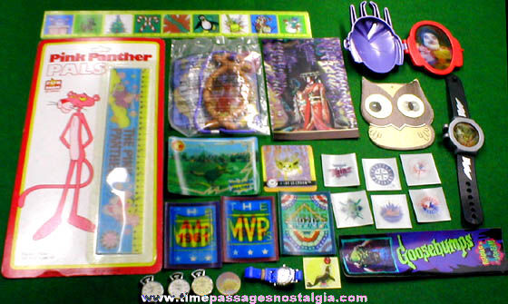 (25) Assorted Flicker, Lenticular, & 3-D Items
