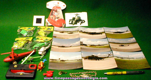 (25) Helicopter Related Items