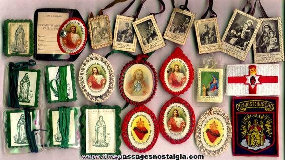 (20) Small Catholic / Christian Religious Items