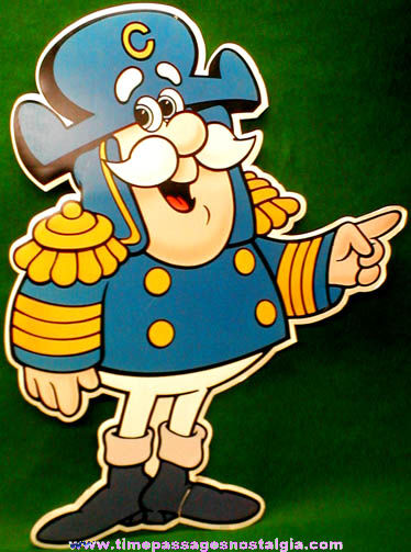 Large Cap'n Crunch Cereal Advertising Character Figure Store Sign