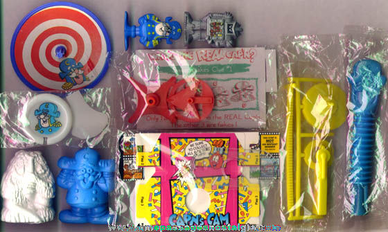 (10) Different Cap'n Crunch Cereal Prizes