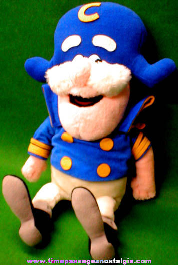 ©1987 Cap'n Crunch Cereal Advertising Character Doll
