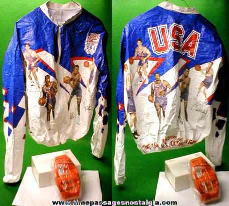 (2) Unused 1992 Olympics Basketball Dream Team Kellogg's Mail Away Premiums