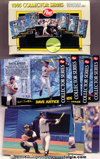 ©1995 Post Cereal Premium Basball Card Set