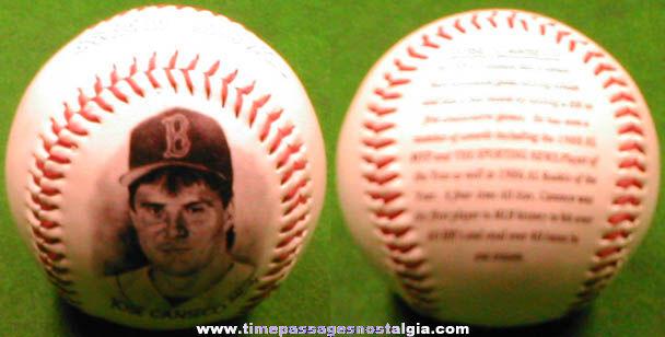 ©1996 Jose Canseco Burger King Premium Baseball