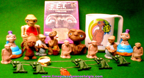 (21) Old ET - Extra Terrestrial Character Items