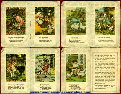 Small Old Mother Goose Nursery Rhyme Premium Booklet