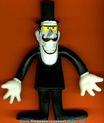 ©1972 Snidely Whiplash Bendable Figure