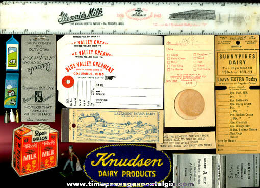 (30) Small Dairy Related Items