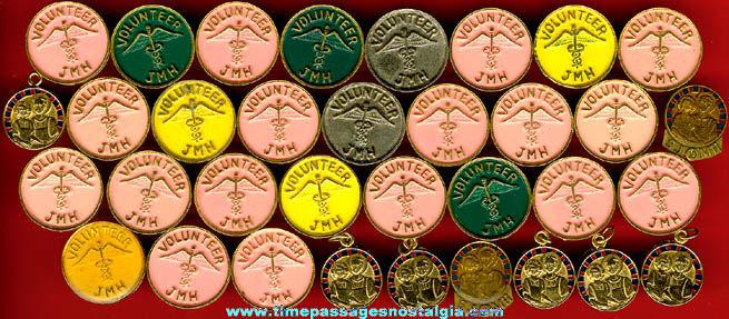 (34) Nurse / Nursing Hospital Pins