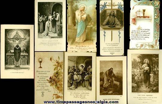 (9) 1922 First Solemn Mass Priest Cards